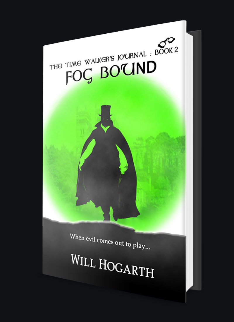 Fog Bound, Serial killer on loose in Durham City, Young Adult Fantasy Thriller, Time Travel, Serial Killer, Victorian